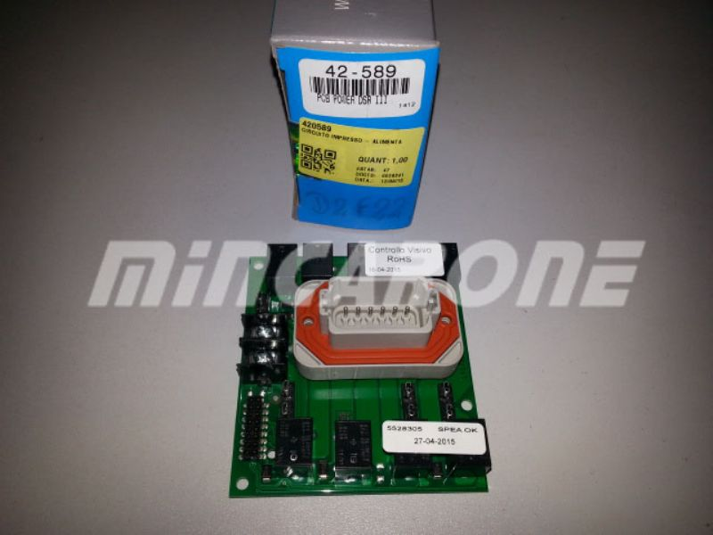 420589 PLACA DSR III THERMO KING